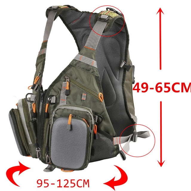 Maximumcatch Fly Fishing Vest Backpack And Vest Combo Army Green Fishing Vest fly Fishing Jacket