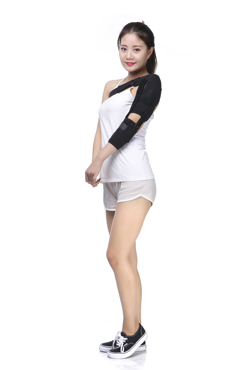 ФОТО Free Shipping Shoulder Brace Support  Holder Orthopedic brace UPPER LIMB SUPPORT Elbow Fixation Brace Fracture Immobile Support