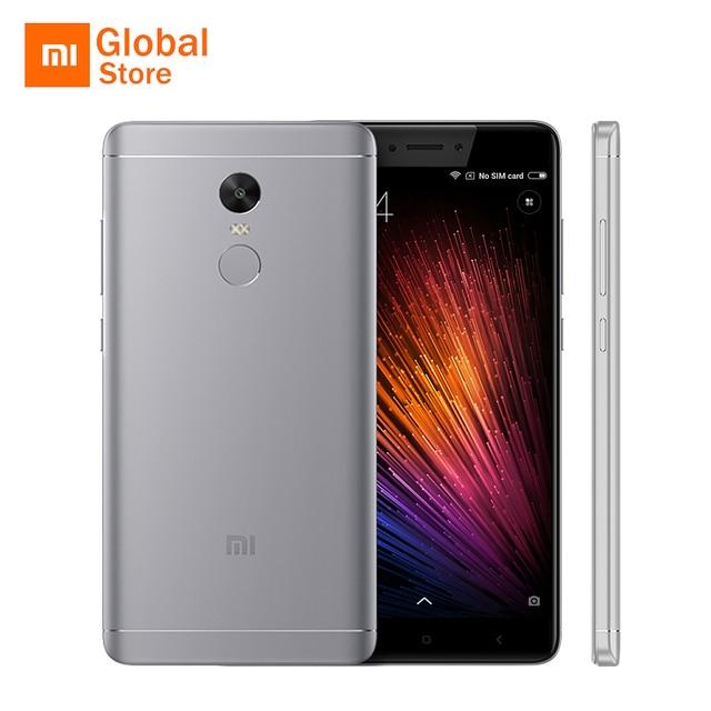"""Оригинальный Xiaomi Redmi Note 4x3 ГБ Оперативная память 16 ГБ Встроенная память 4 X мобильный телефон Snapdragon 625 Octa core 5.5 """"4100 мАч Глобальный Встроенная память отпечатков пальцев ID"""