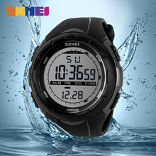 Trendy Men Watches Sport Climbing Sports Digital Wristwatches Big Dial Military