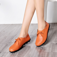 2019 Spring Women Oxfords Shoes Casual Women