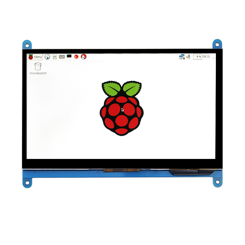 7 Inch Raspberry Pi 3 Touch Screen 1024 * 600 LCD Display HDMI Interface TFT Monitor Module for Raspberry Pi 3/2 Model B 7 inch raspberry pi 3 touch screen 1024 600 lcd display hdmi interface tft monitor module compatible raspberry pi 2 model b