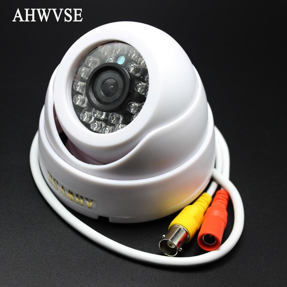 AHWVSE New font b CCTV b font IR night vision Dome AHD Camera Indoor 1280 720P