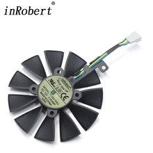 T129215SU кулер вентилятор для ASUS Strix RX480 RX 580 GTX 980Ti R9 390 390X GTX 1060 1070 1080 1070Ti 1080Ti графическая карта Вентилятор охлаждения