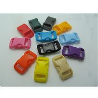 100 Pcs Plastic Insert Small Clip Diy Hand Rope Pet Accessories Umbrella Rope Buckle EDC Buckle