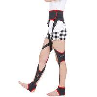 O Forme de X Jambes Correction Ceinture disponible toute la journée correctives jambe handage Correcte ceinture Soins Des Pieds Outils M LFor Hommes Femmes