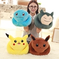 1 pc Pikachu Plush Toys High Quality Cute Pokemon Plush Toys for Children Gift Toy Kids Cartoon Peluche Pokemon Snorlax  Plush
