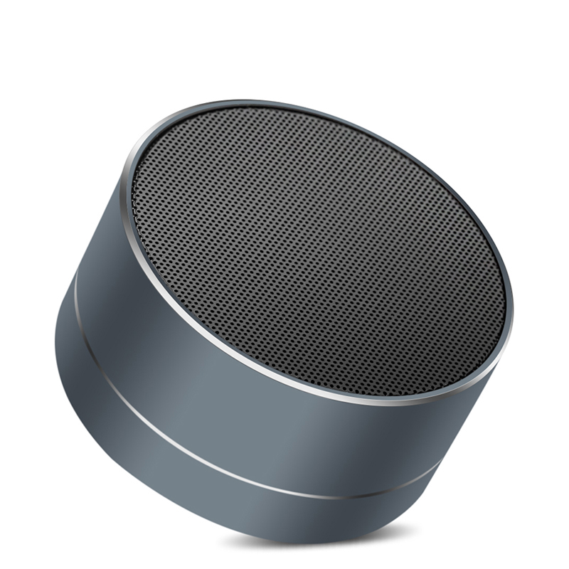 New A10 Wireless HIFI Bluetooth Speaker Portable Square Box for Smartphone PC Computer Table With Radio tf Card Player with mic