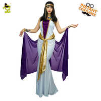 Adult Egyptian Queen Costume Deluxe Women Sexy Cosplay Outfits Carnival Role Play Fancy Long Dress Exotic Cleopatra Costumes