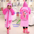 d53e17368 Free Shipping Cute Cartoon Outdoor Children Girl RainCoat Kids rain ...