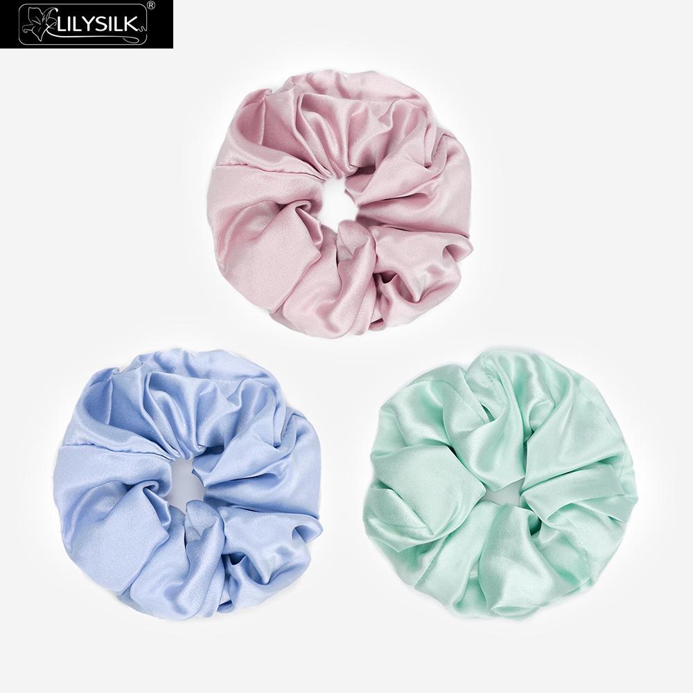 Free Shippping Fashion Women Sweet Small Pure Silk Hair