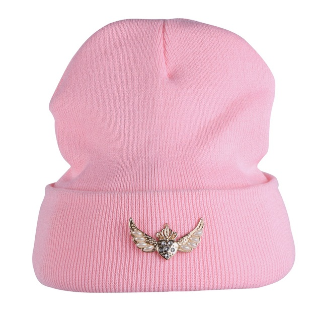 Niño niña deportes gorros moda blanco negro Rosa colorido casual sombrero  de invierno para las mujeres 4f8a042d27a