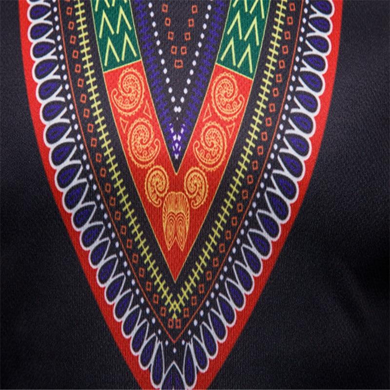 T shirt 2018 Men's Casual African Print O-Neck Pullover Long Sleeved T-shirt Top women t-shirt Dropshipping For Free Shipping (6)