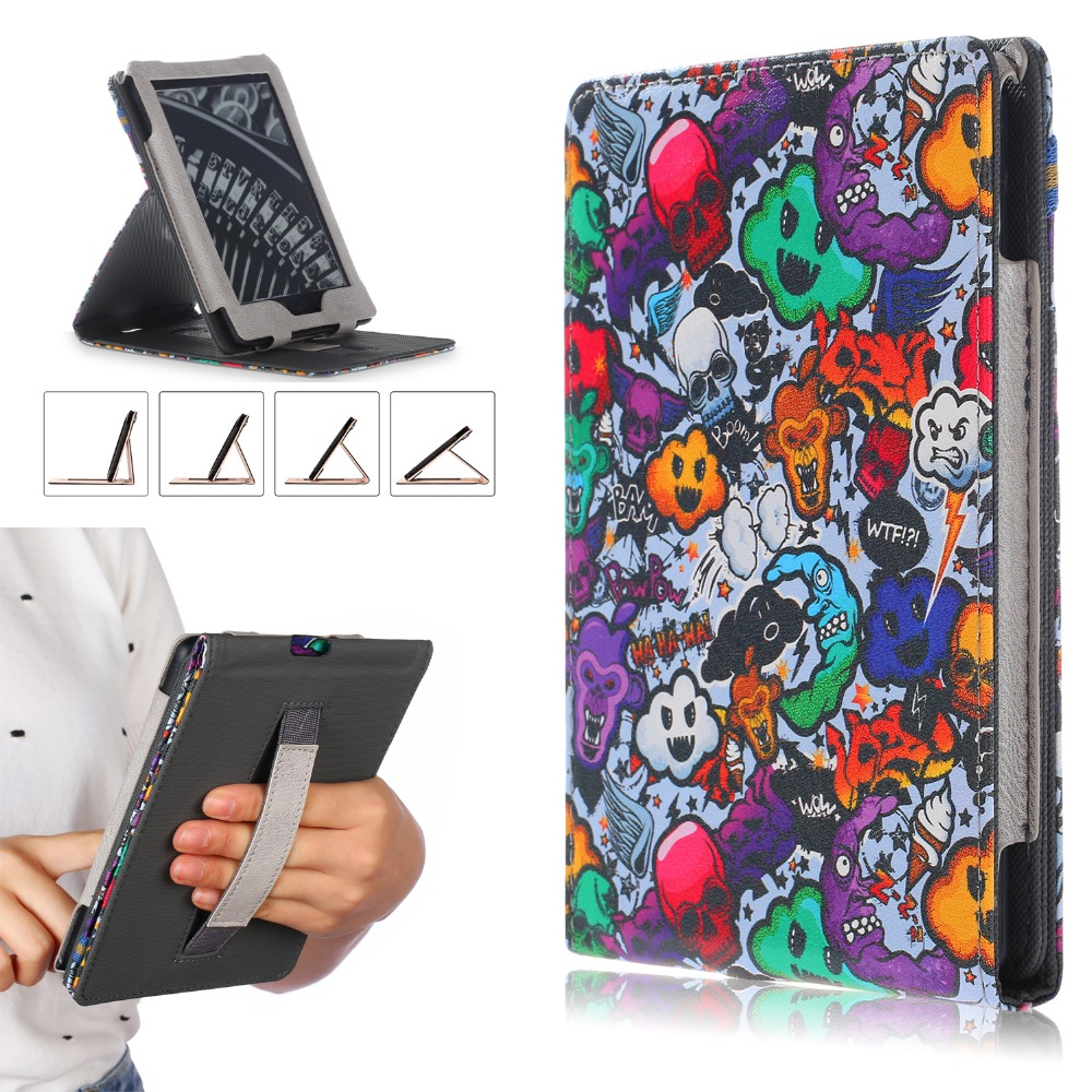 Case For Amazon Kindle 2019 Smart Cover For Kindle 10th Generation Case With Hand Holder