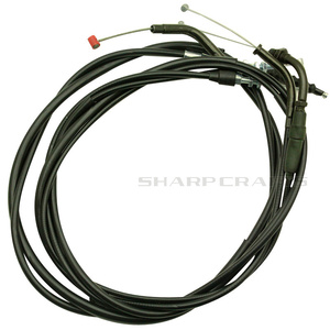 Modified Lengthen Extended Throttle Line 143CM Clutch Cable Wire 165CM For Honda Steed VLX400 VLX600 Magna VF250 Shadow VT400(China)