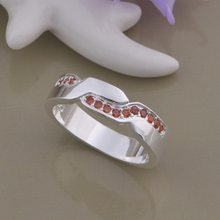 wholesale High quality silver Fashion jewelry rings WR-963(China)