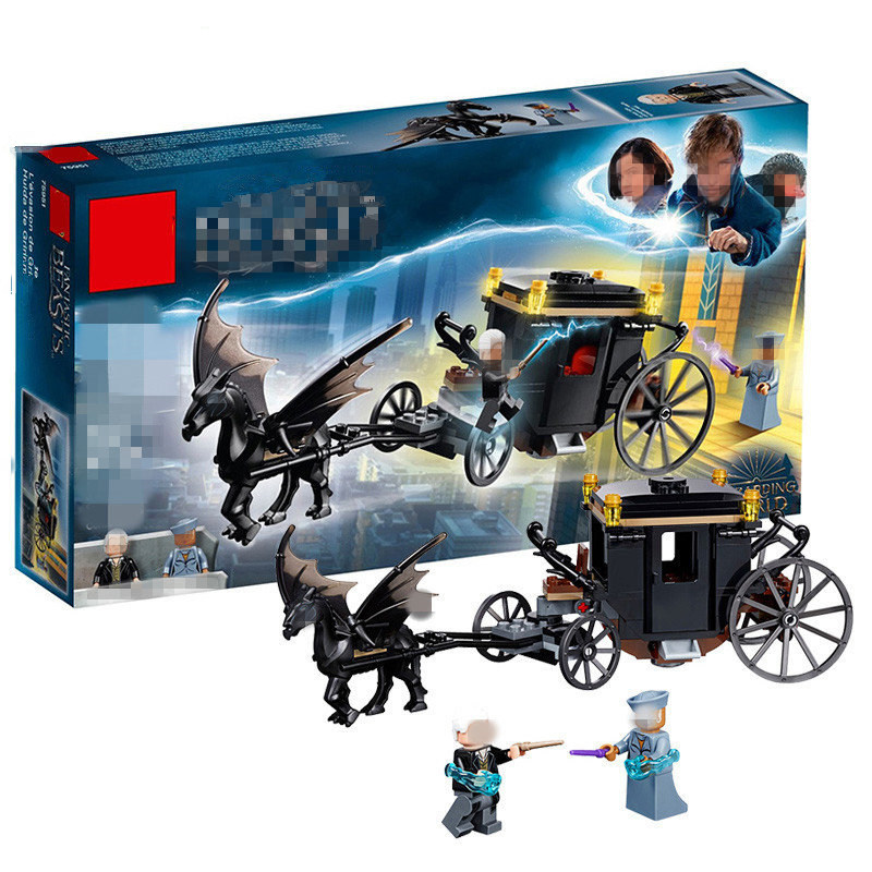 2018 Compatible legoing Harry Potter Hogwarts 16053 Series Grindelwald's Escape Model Building block Toy For Children Gift 75951