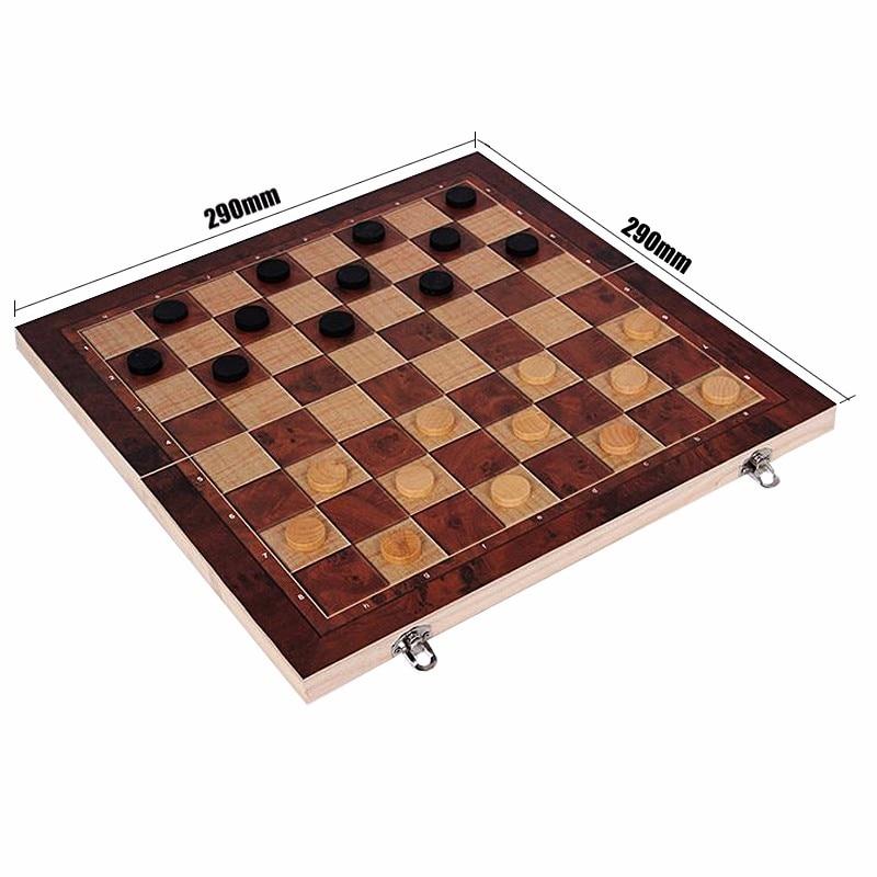 3 em 1 conjunto de xadrez internacional