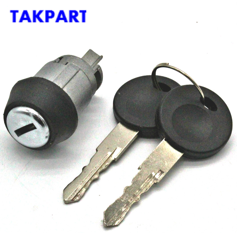 TAKPART for VW Beetle 1971-Up Ignition Switch Key & Lock Cylinder Bug for T3 Ghia Bus 191905855