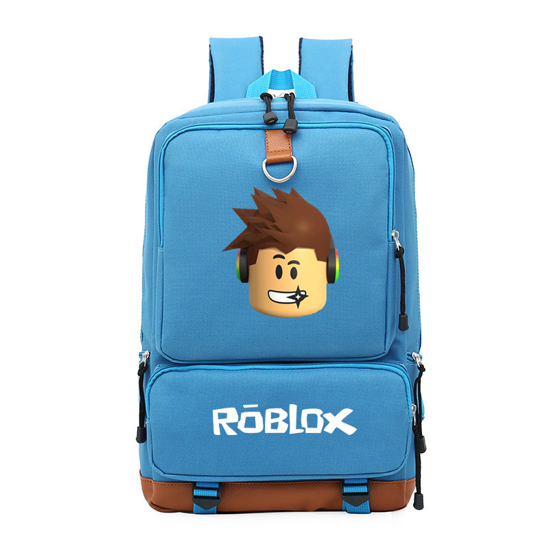 New Anime Game Roblox Travel Laptop Bags Casual Backpack