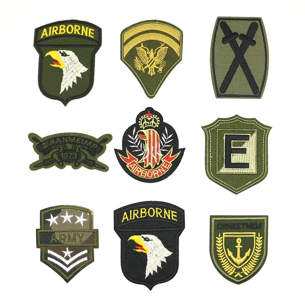 2018 New 1 pcs The exquisite emblem of retro Iron-on American Special Forces military the patch P-1000