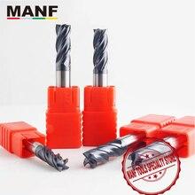 Cortadores de trituração hrc50 4mm 6mm 8mm 10mm carboneto sólido fresas de extremidade do carboneto de tungstênio cortador de moinho para fresar