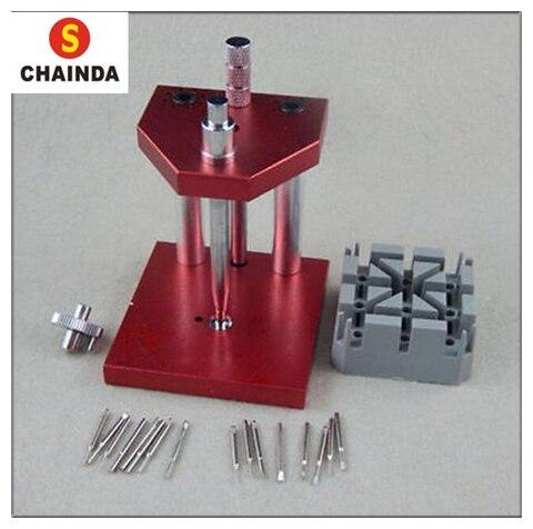 Ferramenta de Demolição Máquina de Cinto Kit de Reparação do Relógio Frete Grátis Relógio Relógios Tool Conjunto Extrator Ferramenta 1 pc