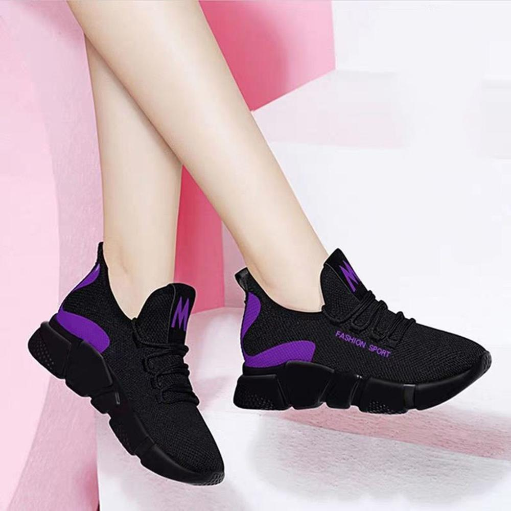 Cheap Women Sports Sneakers Shoes cushion Running shoes women Non-Slip Wear Resistant Walking Jogging Trainers breathable j19