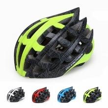 Bicycle Helmets Men Bike Helmet Back Light Mountain Road Bike Integrally Molded Cycling Helmets 57-62cm