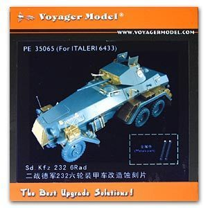 KNL HOBBY Voyager Model PE35065 Sd.Kfz.232 2X4 wheeled armored reconnaissance vehicle upgrade kit