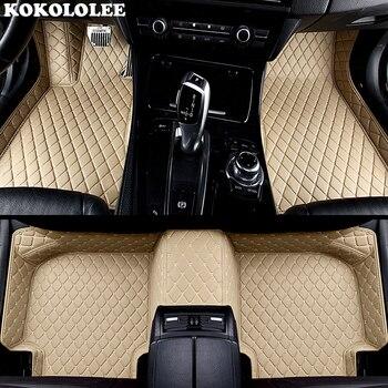 KOKOLOLEE Custom car floor mats for Fiat All Models fiat 500 500x 500l punto car accessorie car-styling auto floor mats