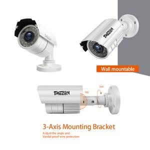 Image 3 - TMEZON système de vidéosurveillance 8CH, 4 pièces 720P, caméra de sécurité dextérieur résistante aux intempéries 8CH 1080P DVR jour et nuit, système