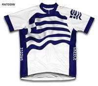 יוון מאיו Ciclismo רכיבה על אופניים של רכיבה על אופניים ג 'רזי לגברים לבן כחול בגדי רכיבה על אופניים MTB אופני ביגוד אופניים ללבוש