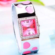 Модные брендовые квадратные Прямоугольные Наручные часы для женщин, кварцевые часы со стальным ремешком, стразы, женские повседневные часы-браслет