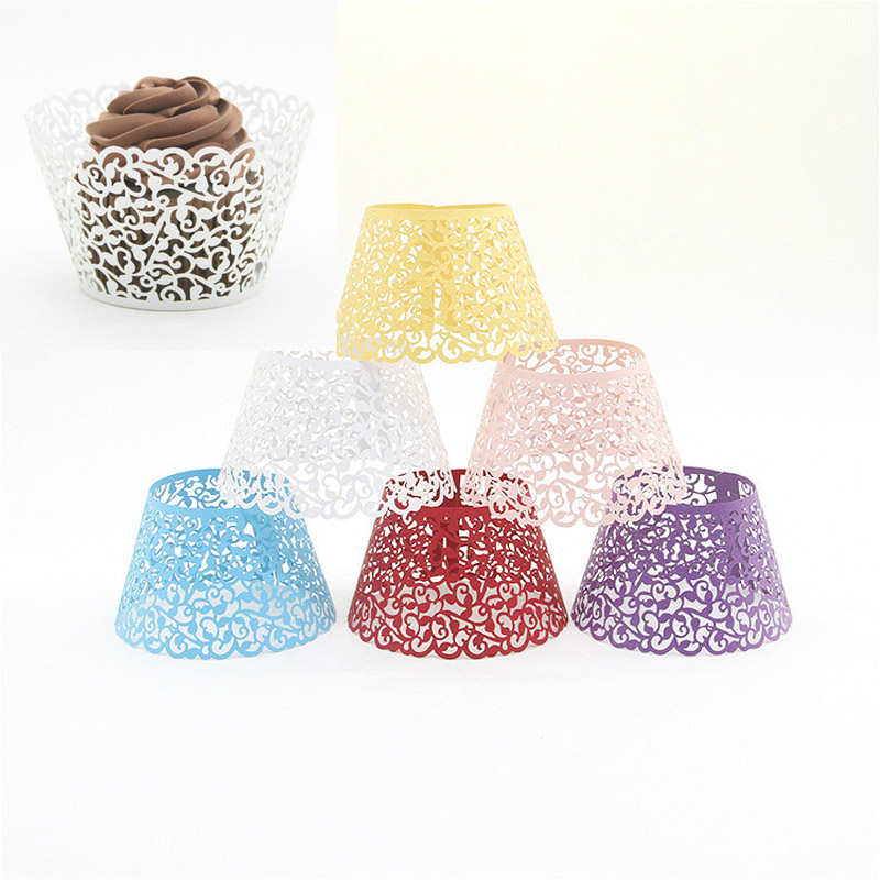 Home Cake Decorating Supply Co: Small Cake Around The Cake Paper Cups Dessert Stage Party