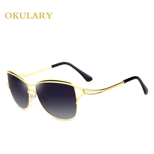 2018 Men Polarized Goggle Sunglasses Black/Tea/Blue Color Metal Frame With Box ,Case