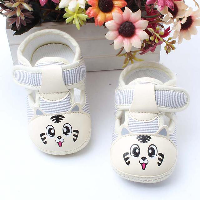 Infant Primer Caminante Del Bebé Zapatos de Los Niños Para Los Primeros Pasos Del Bebé Schoenties Niño Tela Cuna Bebé Botines Artículos 703052