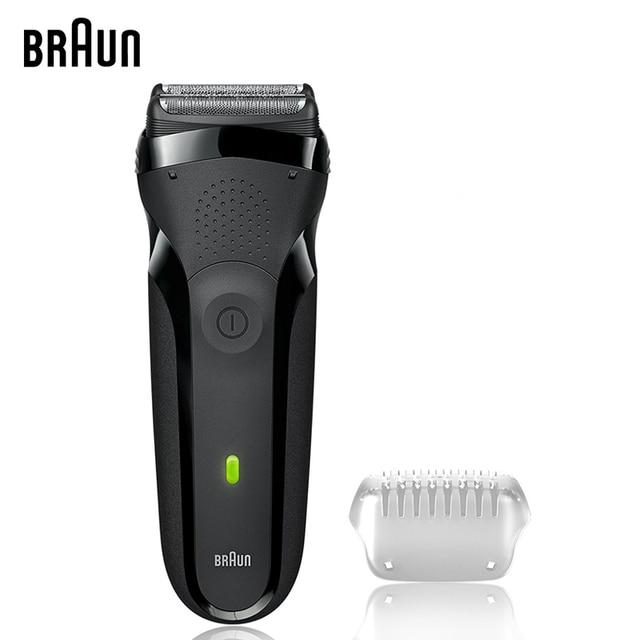 Braun rasuradoras eléctricas 301 s maquinillas de afeitar eléctrica para  hombres lavable Reciprocating Blades cuidado facial 50ad15e09b17