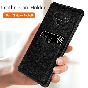S10 Case Card Slot Leather Cas