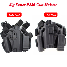Left / Right Hand Gun Holster Military Tactical Army Gear Hunting Pistol Belt For Sig Sauer P226 Airsoft Air