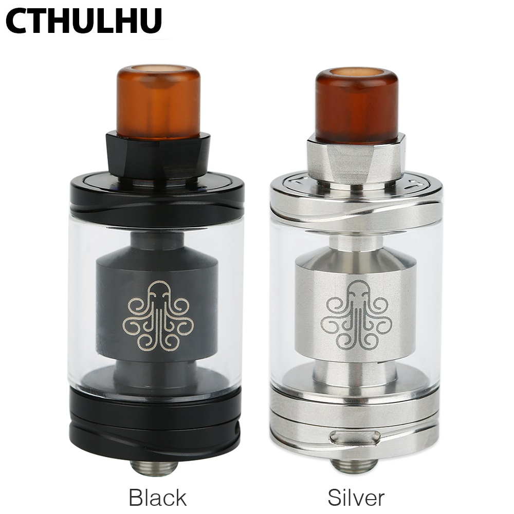 все цены на Original Cthulhu Hastur MTL RTA Tank 3.5ml Capacity Single Coil Atomizer with Easy Locking Big Post & Top Filling MTL Vape Tank