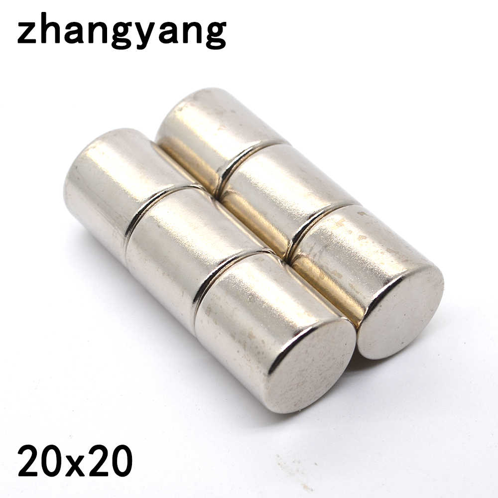20pcs 10 X 8mm Neodymium Disc Super Strong Rare Earth N50 Small Fridge Magnets