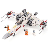 LELE Starwars Series 05039 The X UCS wing Red Five Star Toys fighter Set Building Blocks Bricks 10240 Children Toys Gifts