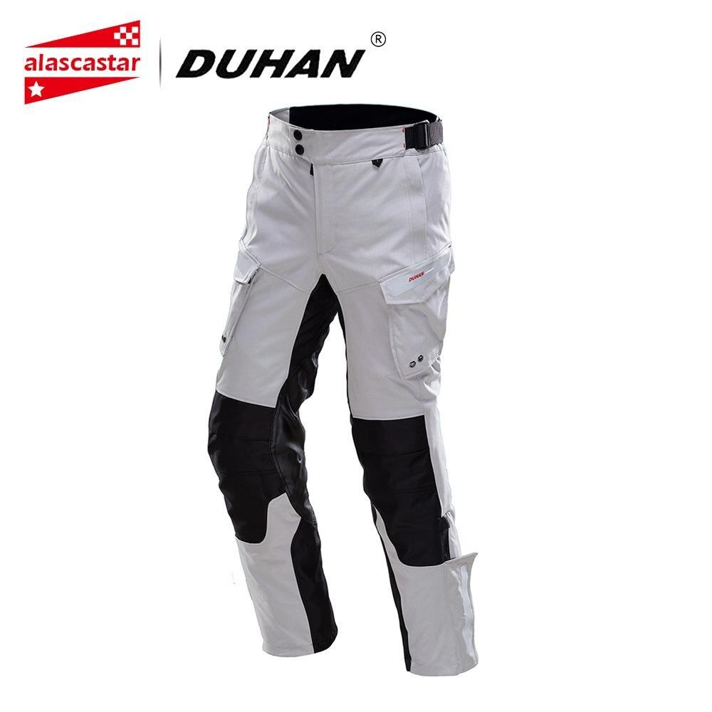 Moto DUHAN Pantaloni Degli Uomini di Moto Pantaloni Moto Touring Viaggi A Cavallo Dei Pantaloni Impermeabile Pioggia a Prova di Pantaloni Da Corsa Pantaloni
