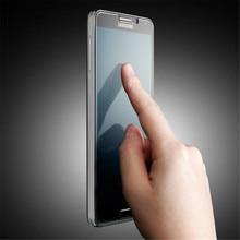 2.5D закаленное Стекло Плёнки для Samsung Galaxy Note 3 N9000 Note 4 Note5 Анти Shatter Взрывозащищенный Экран Плёнки