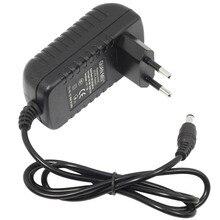 Dc 12ボルト電源アダプタac100 240v照明トランスフォーマー出力dc 12ボルト1a 2a 3aスイッチング電源用ledストリップ