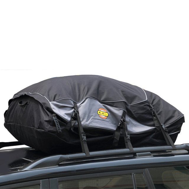 Waterproof Car Roof Bag Carrier Cargo Luggage Travel Bags Capacity Storage S M L For Vehicles