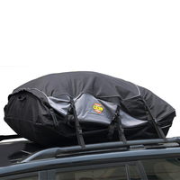Waterproof Car Roof Bag Carrier Cargo Luggage Travel Bags Capacity Storage S/M/L For Vehicles