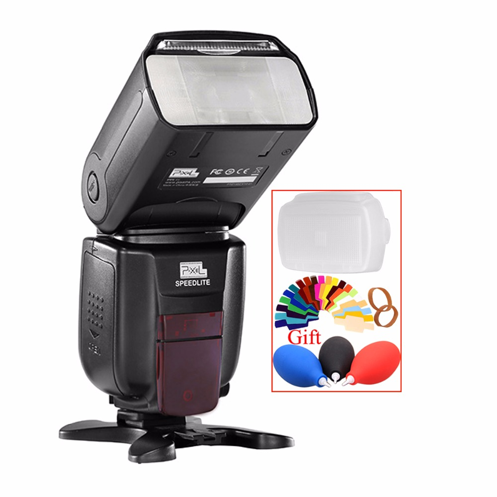 Pixel X800N Standard i-TTL Wireless Flash Speedlite HSS 1/8000s For Nikon D7300 D7200 D7100 D7000 D5500 D5300 D5200 D5100 3300 цены онлайн