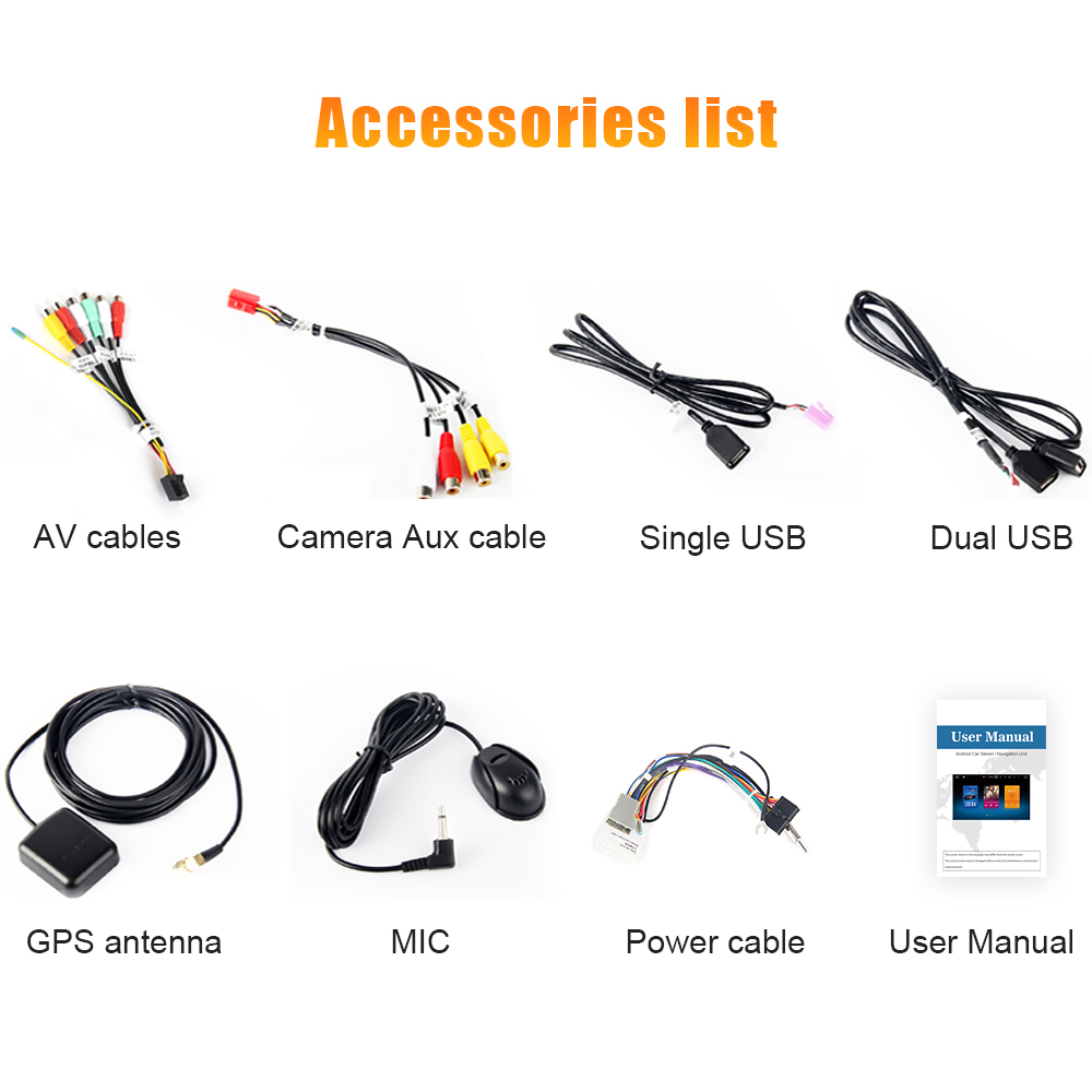Top 1 din car stereo GPS Radio Android 9.0 Car Radio Player for Nissan Sylphy B17 Sentra  Accessori Auto 5